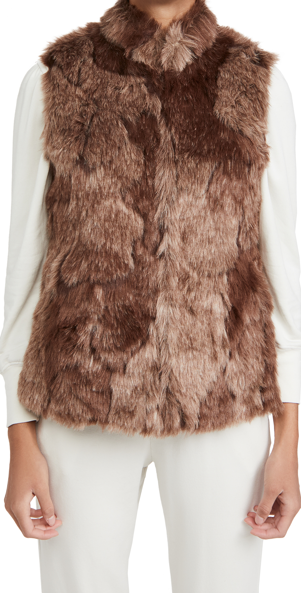 BB Dakota Fur What It's Worth Faux Fur Vest