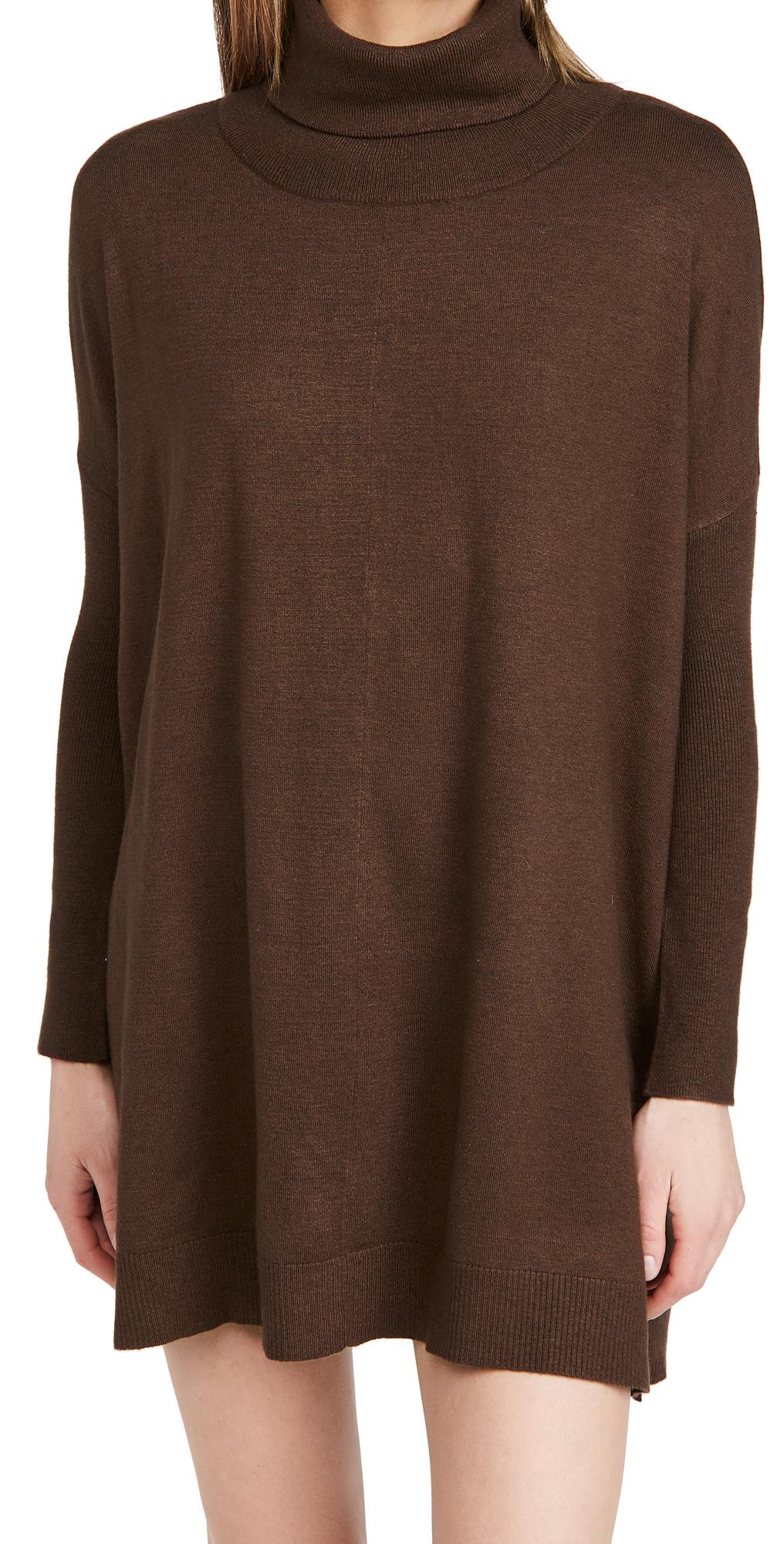 Hug Me Tight Mock Neck Sweater Dress