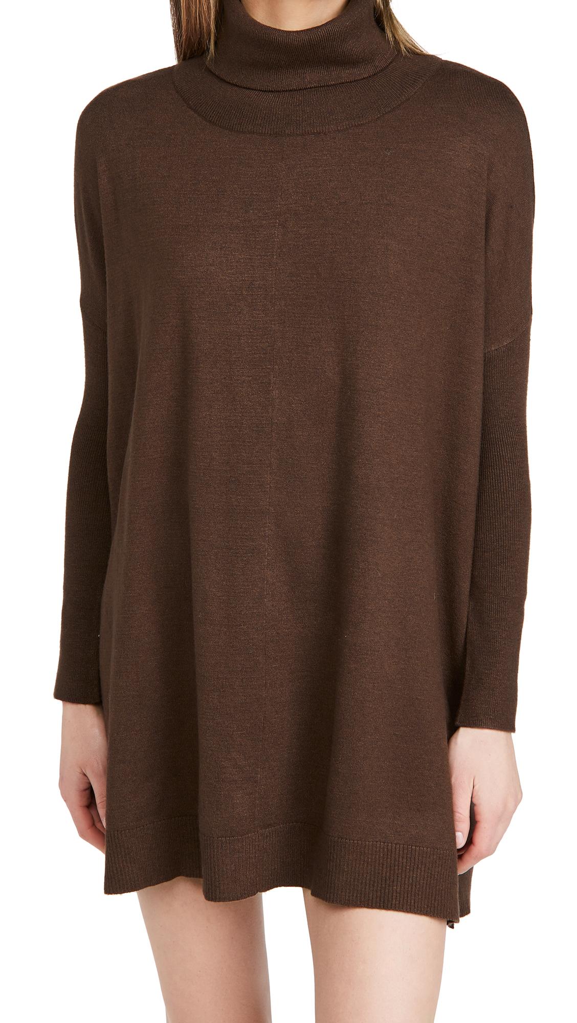 BB Dakota Hug Me Tight Mock Neck Sweater Dress