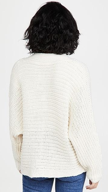 BB Dakota Knit Rewind 粗针织系扣衫
