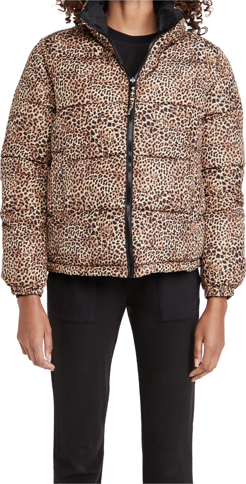 BB Dakota Cool Kitten Reversible Puffer Coat