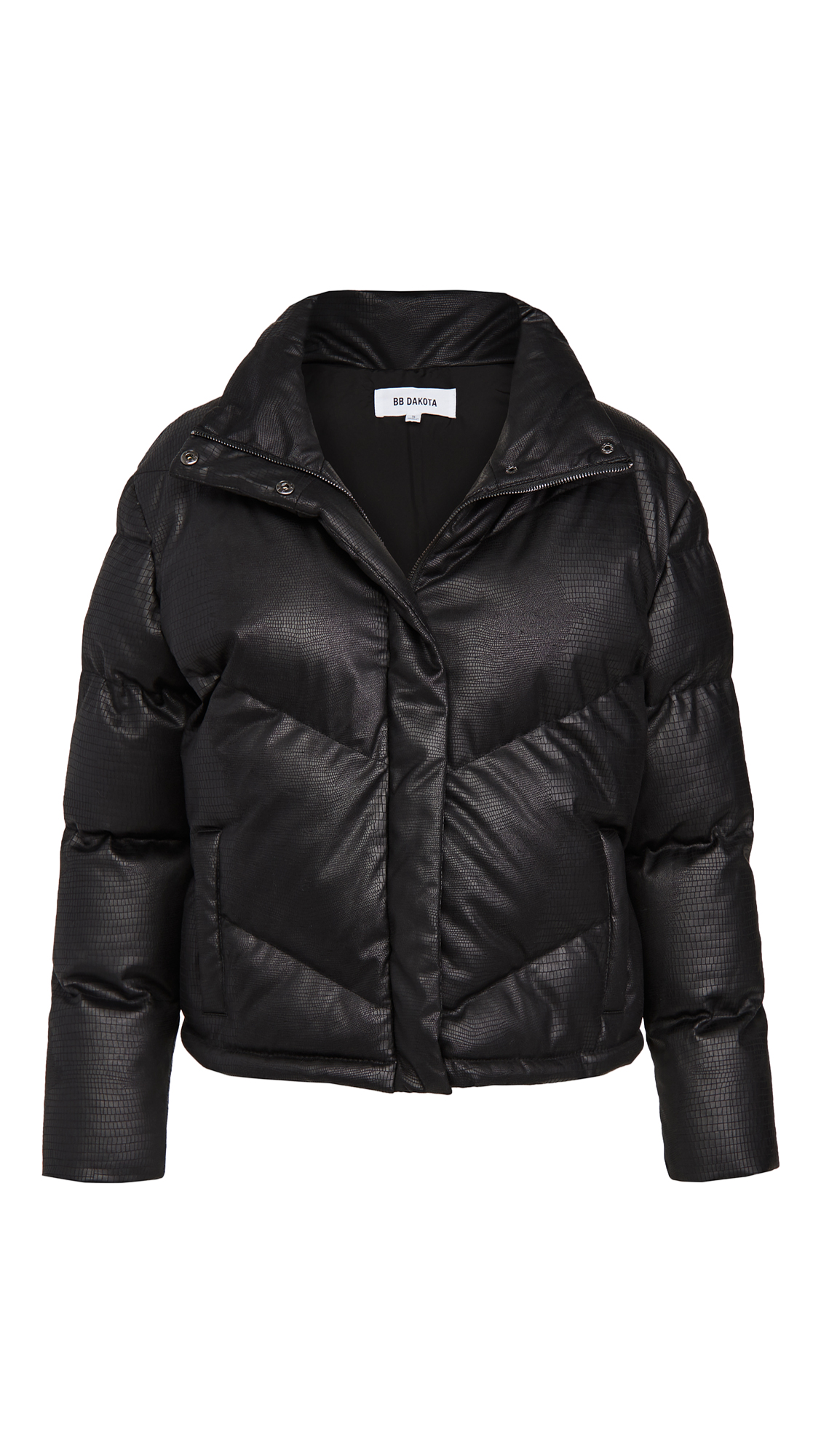 Bb Dakota ANSWER MY LAYER PUFFER JACKET