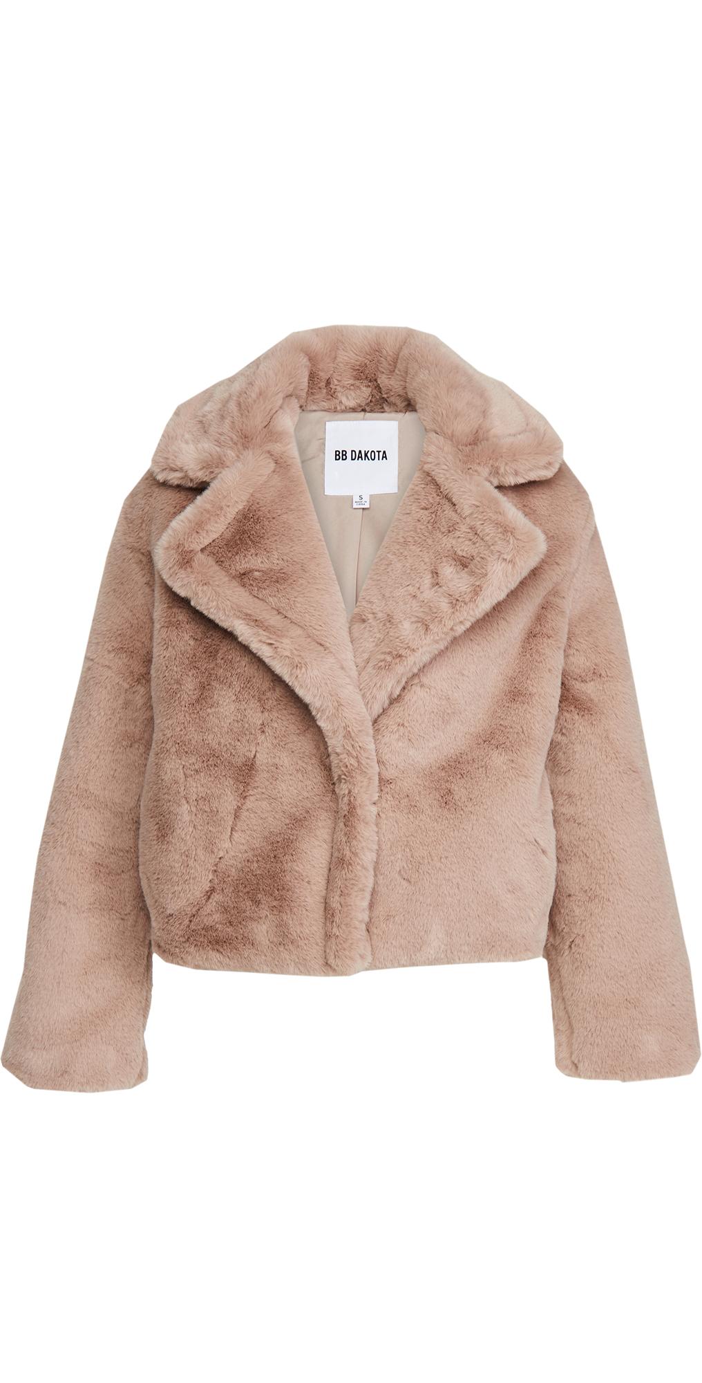 BB Dakota Big Time Plush Jacket