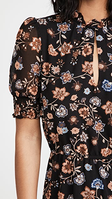 BB Dakota Floral Consideration 连衣裙