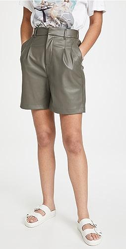 BB Dakota - 仿皮 Kokomo 短裤