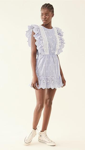 BB Dakota 条纹连衣裙