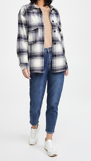 BB Dakota Plaid Shirt Jacket