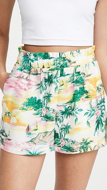 BB Dakota Aloha 短裤