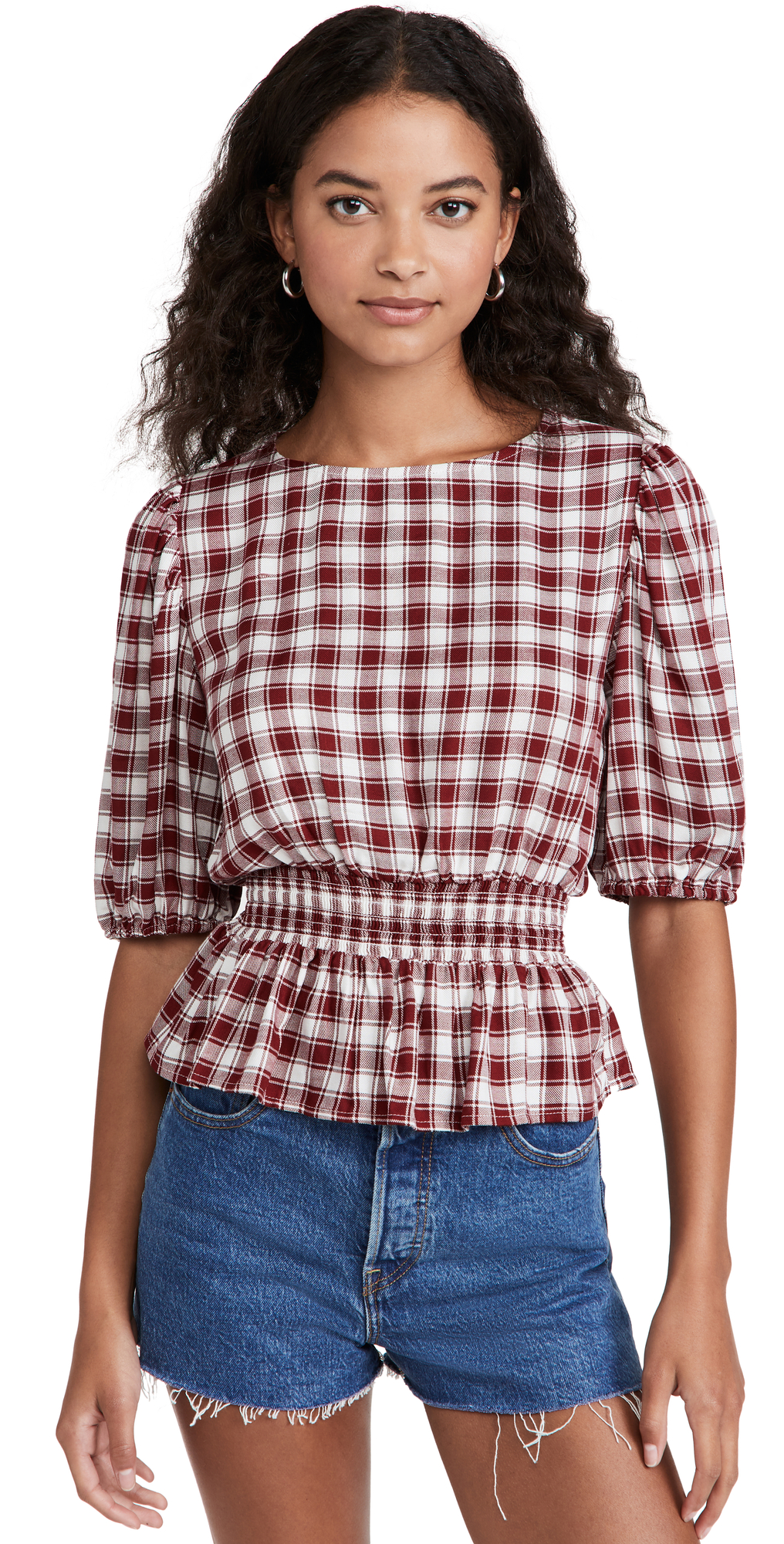 Smocking Section Top