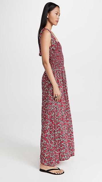 BB Dakota 中长花卉无袖连衣裙