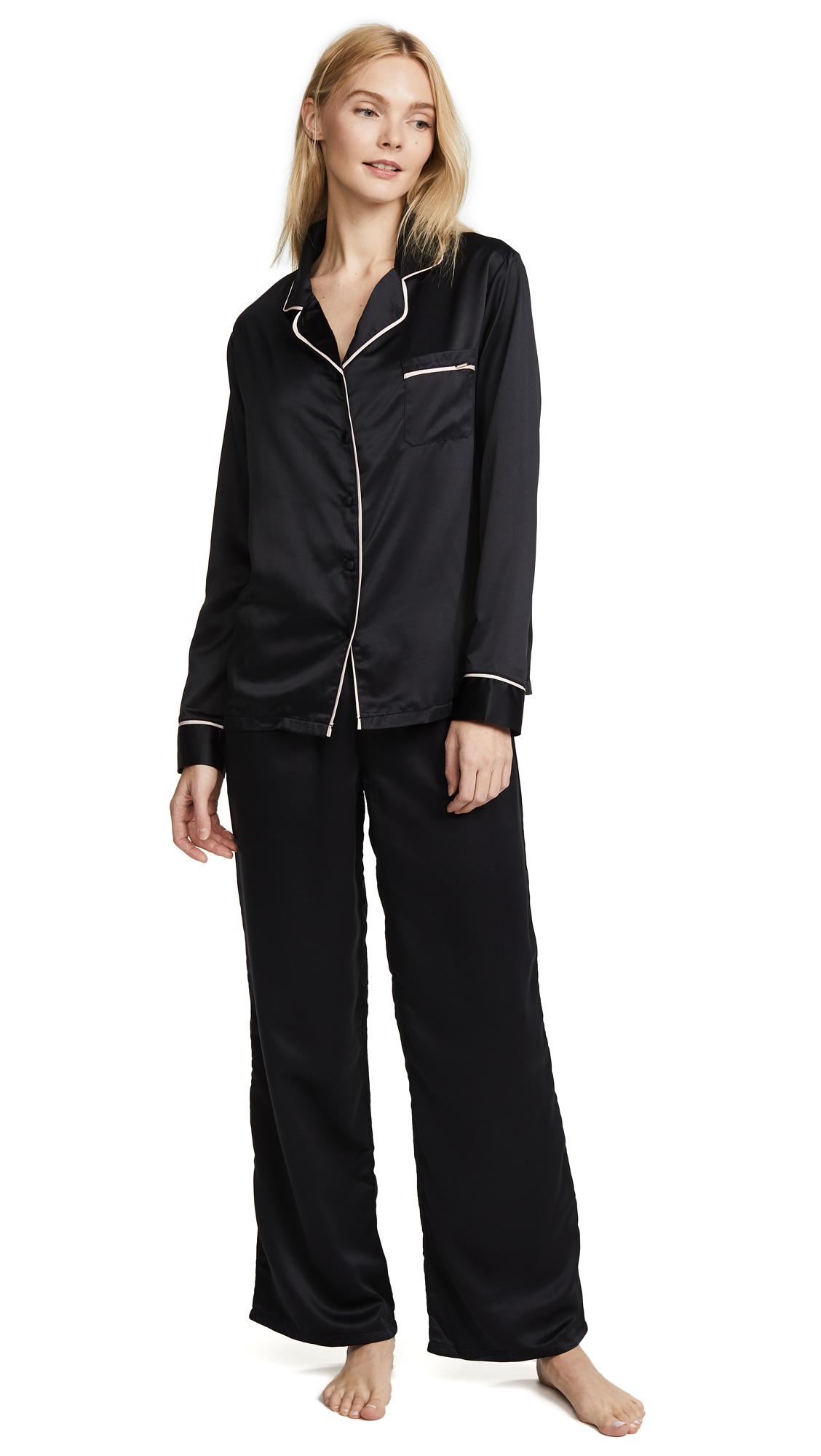 Bluebella Claudia Shirt and Pant Set
