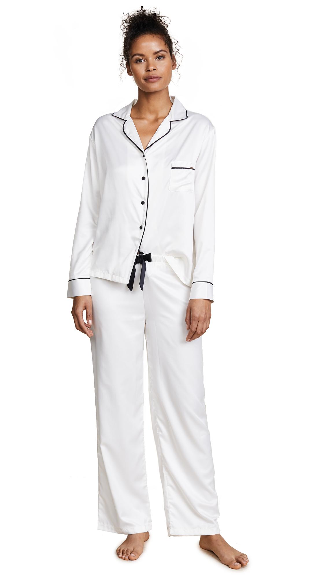 Bluebella Claudia Shirt and Pants Set