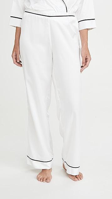 Bluebella Wren Kimono & Trouser Pajama Set