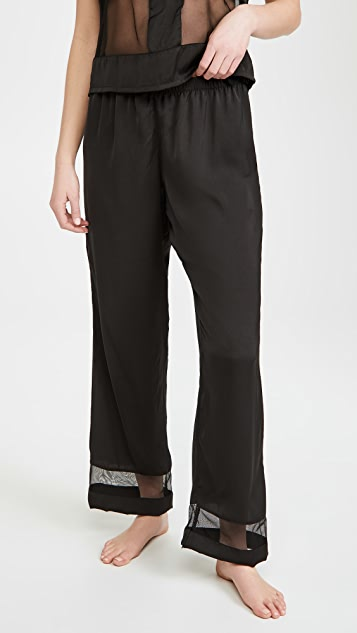 Bluebella Richmond Top and Trousers Pajama Set