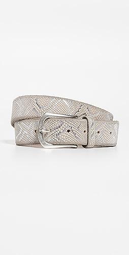 B. Belt - 压花金属色腰带