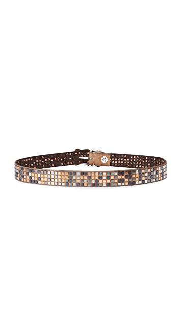 B. Belt Square Studded Belt
