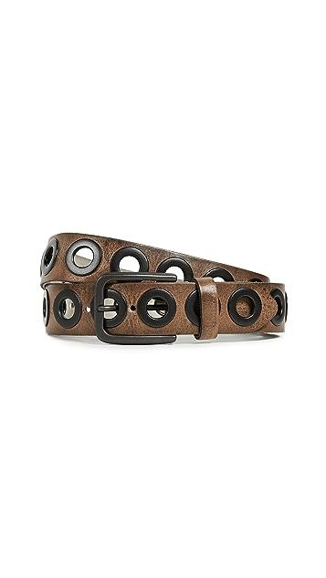 B. Belt Gunmetal Grommet Belt