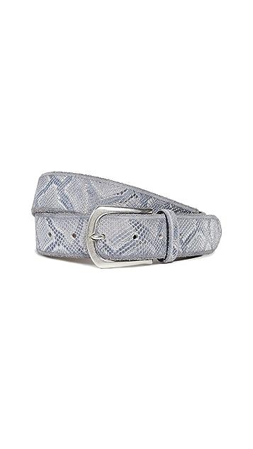 B. Belt Metallic Python Belt