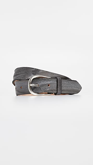 B. Belt Stingray Print Classic Belt