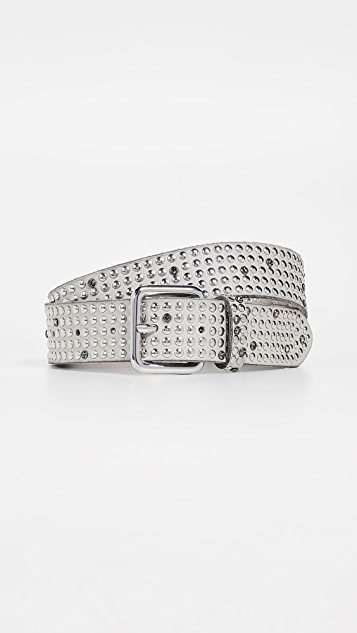 B. Belt Multi Stud With Swarovski Belt