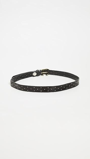 B. Belt Skinny Mini Star Belt