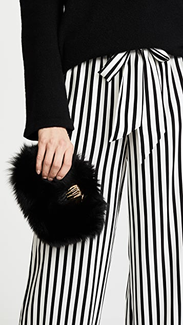 Benedetta Bruzziches Fur Carmen Clutch