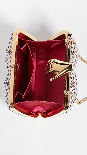 Benedetta Bruzziches Carmen Clutch with Hand