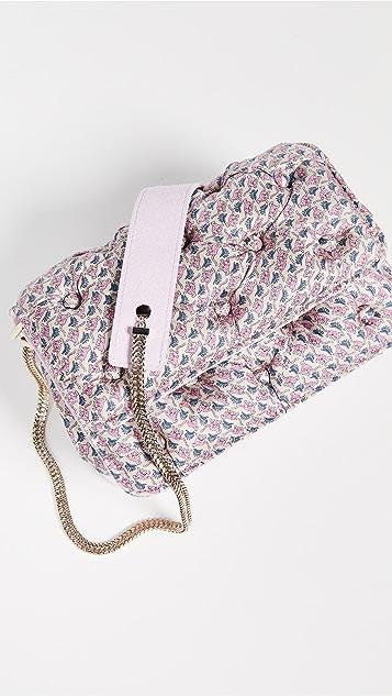 Benedetta Bruzziches Carmen Quilted Shoulder Bag