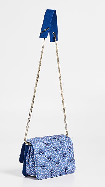 Benedetta Bruzziches Carmen Quilted Shoulder Bag
