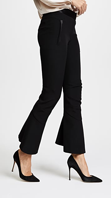 Barbara Bui Ruffle Kicker Pants