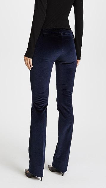 Barbara Bui Velvet Flare Pants