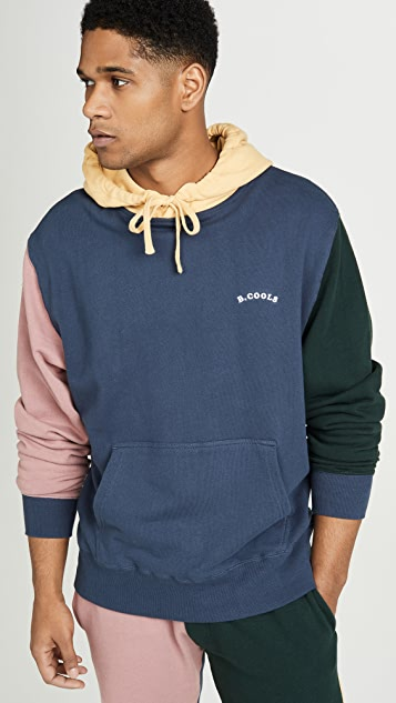 Barney Cools B.Quick Colorblock Hooded Sweatshirt