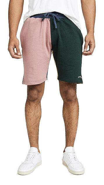 Barney Cools B.Quick Colorblock Sweatshorts