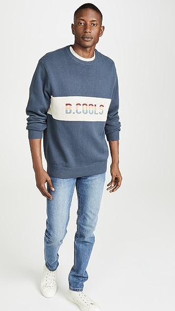 Barney Cools B.Cools Logo Crewneck Sweater