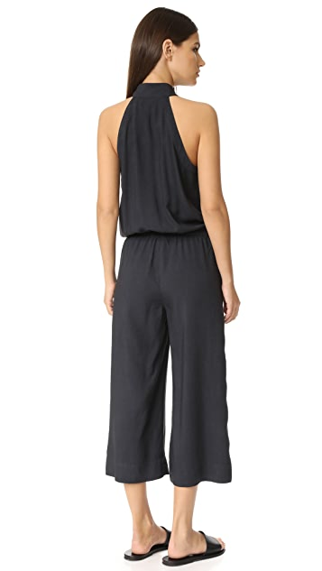 Bella Dahl Mock Neck Jumpsuit