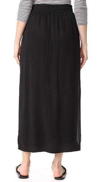 Bella Dahl Button Front Skirt