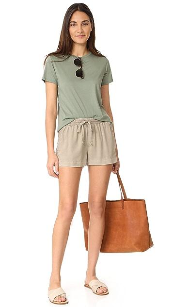 Bella Dahl Multi Stitched Shorts