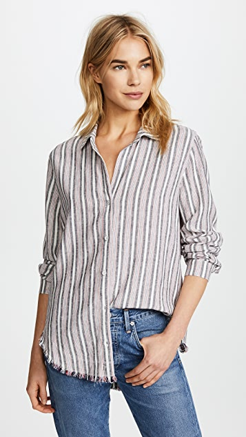 Bella Dahl Fray Hem Shirt