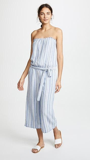 7bb672db3b9 Bella Dahl Strapless Crop Jumpsuit