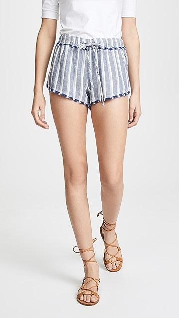 Bella Dahl Easy Fray Hem Shorts