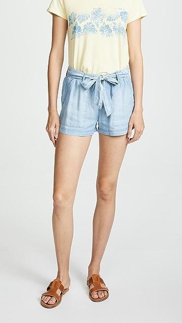 Bella Dahl Easy Belted Shorts