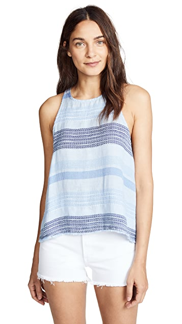 Bella Dahl Frayed Hem Tank Top