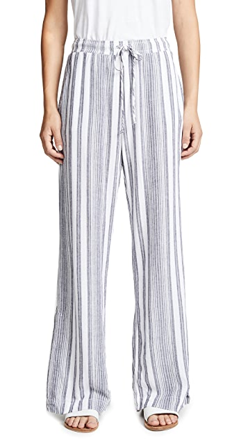 Bella Dahl Side Slit Wide Leg Pants