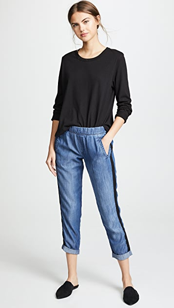 Bella Dahl Welt Pocket Trousers