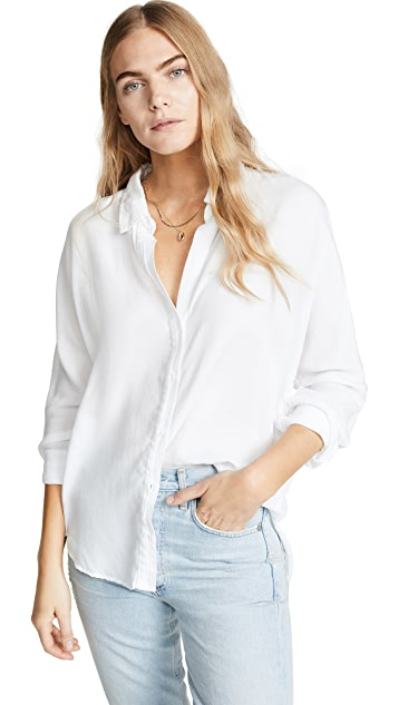 Bella Dahl Half Placket Button Down Shirt