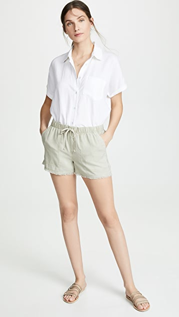 Bella Dahl Fray Hem Shorts
