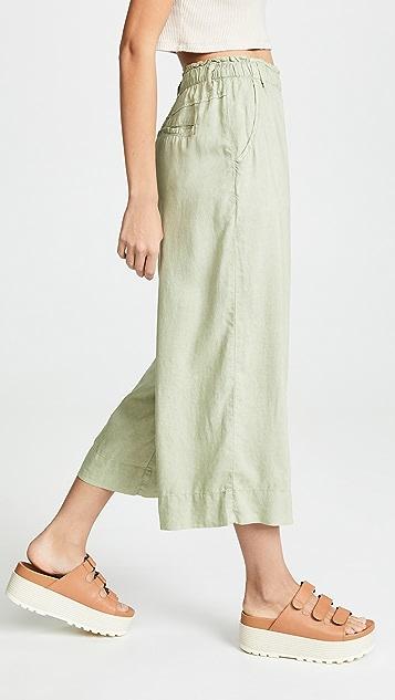 Bella Dahl Укороченные брюки с пуговицами спереди