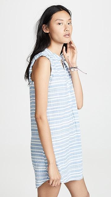 Bella Dahl Pleat Front Dress