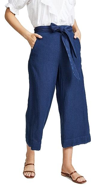 Bella Dahl Belted Crop Pants