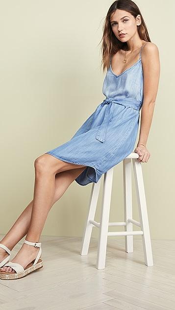 Bella Dahl Платье с открытой спиной и сборками